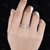 Moissanite Rings 1.5 Carat-BBBGEM Moissaite Ring
