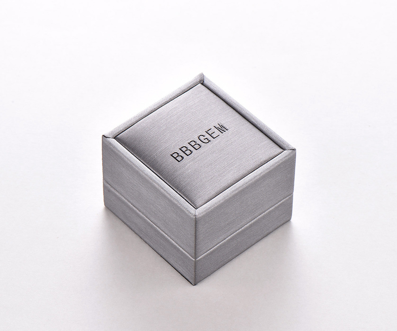 Wedding Ring Box.Bbbgem Gray Ring Box Wedding Ring Box Engagement Ring Box Jewelry Case Gift For Her Jewellery Gift Case