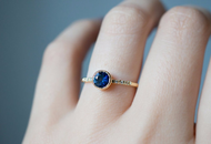Buy The Romance of Blue Sapphire Rings  | 2021