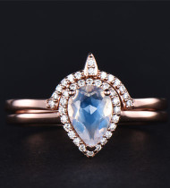 5 Things to Remember for Buying Moonstone wedding ring set