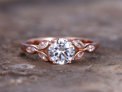 CZ engagement ring