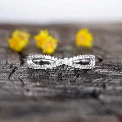 Natural Diamonds Wedding Ring 0