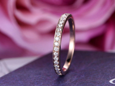 Gemstone Wedding Rings