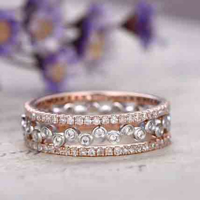 Diamond Wedding ring set 0
