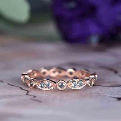 Alexandrite Wedding Rings 0