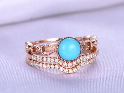 Turquoise Bridal Set