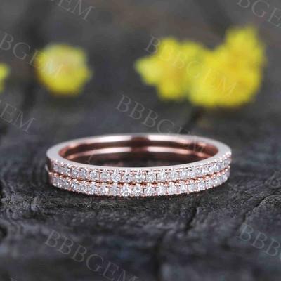 half eternity diamond Wedding Band-BBBGEM diamond wedding band