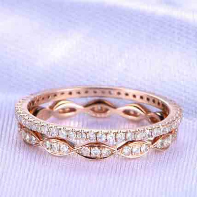gold wedding bands for women 3