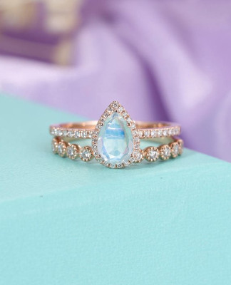 Moonstone Engagement Ring Vintage