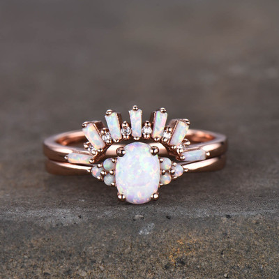 vintage opal engagement rings