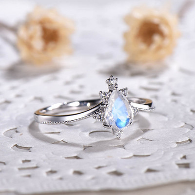 vintage moonstone jewelry