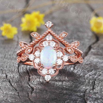 Opal Engagement Rings 0