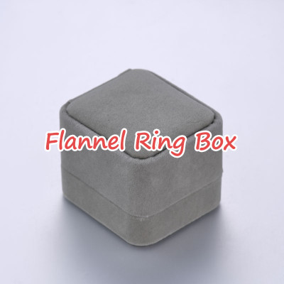 Flannel Ring Box