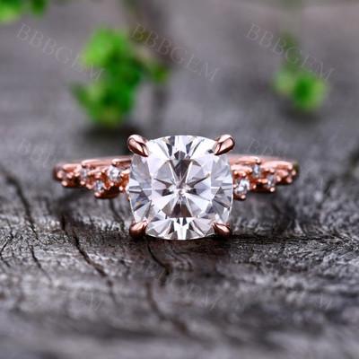 Vintage Moissanite Rings-BBBGEM Moissanite Rings