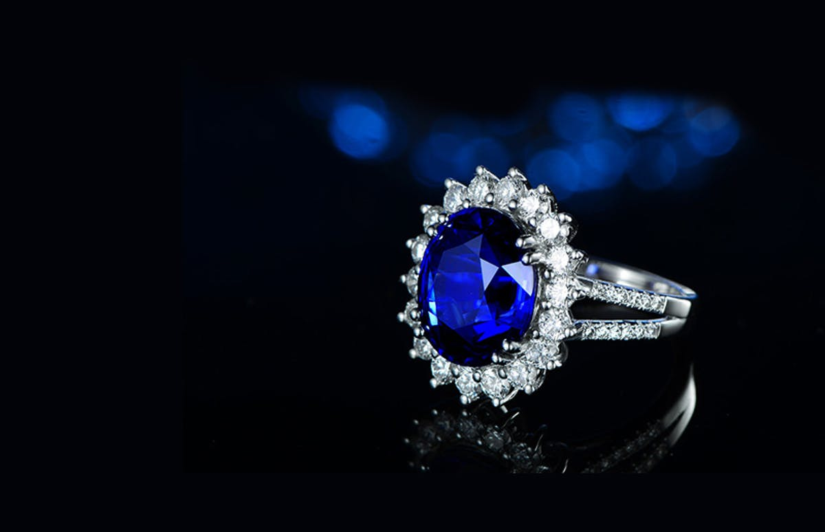 Blue sapphire ring--- Synthetic vs. Natural
