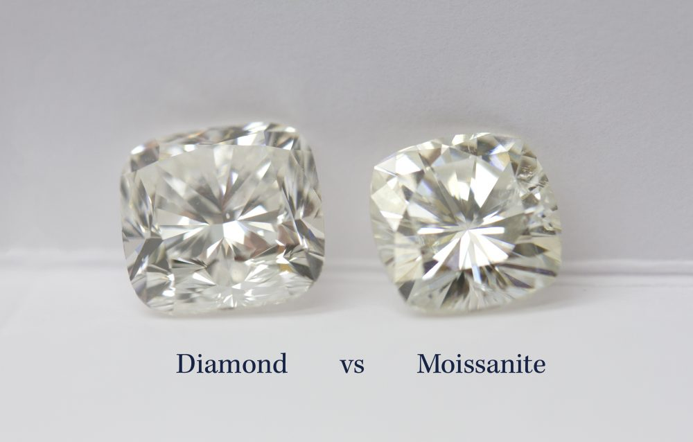 Moissanite Engagement Rings - How Does Moissanite Compare to Diamond?