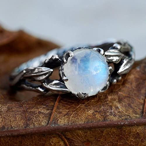 Moonstone Engagement Ring: How much a good ring cost?
