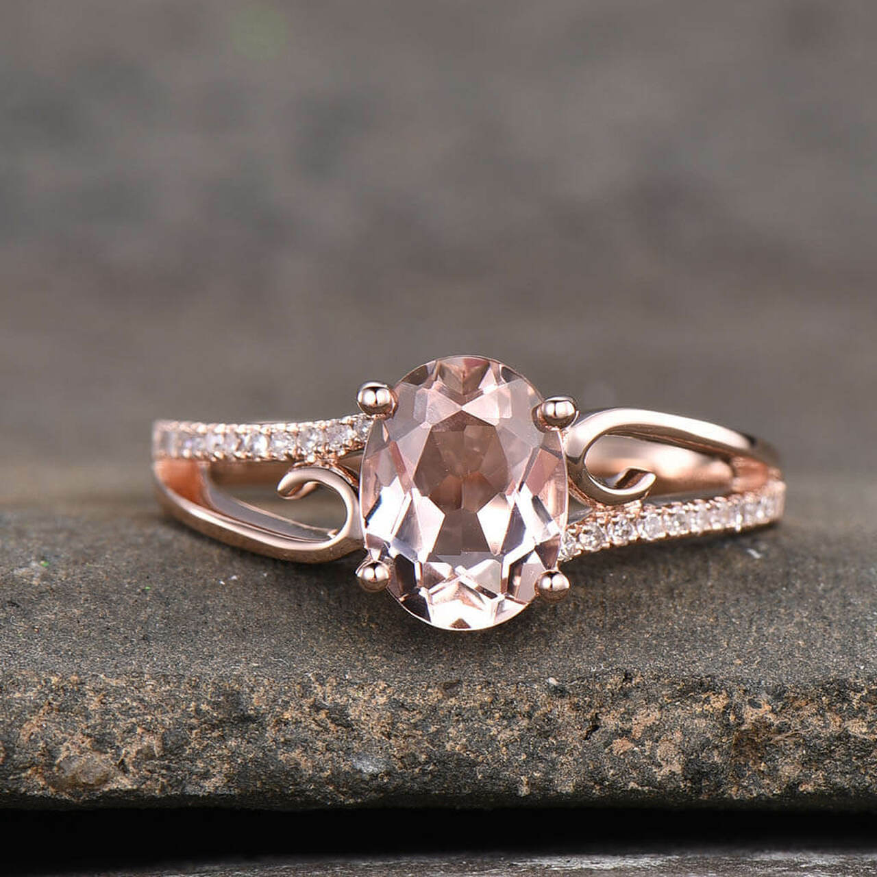 Morganite Rose Gold Engagement Ring - Picking the Right Ring