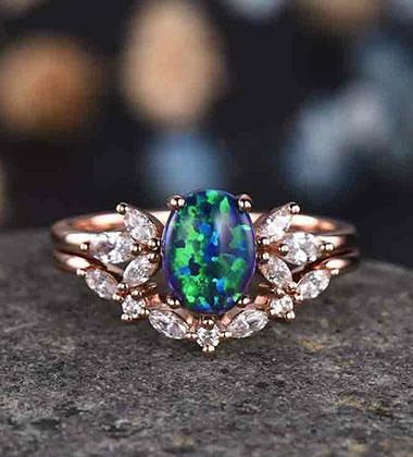Should I buy black opal engagement ring?