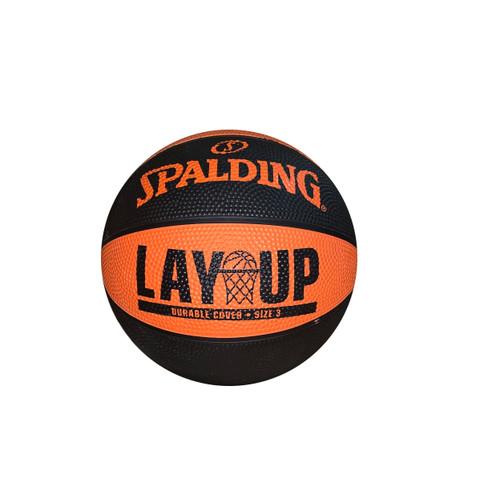 Spalding Lay Up Orange/Black Outdoor Basketball - Size 3