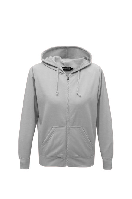 Hooded Zipper Sweater 100% Polyester