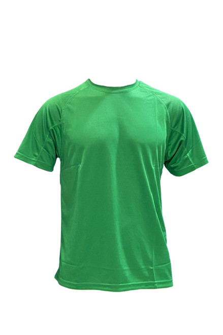 Dry Fit Round Neck T-Shirt 100% Polyester