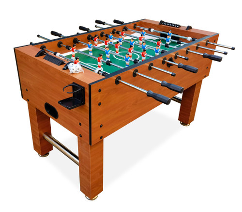 """Classic Foosball Soccer Table 56"""" Official Size Babyfoot Table"""