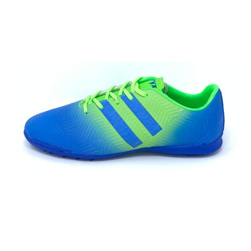 Oryx Rapid Football Shoes Turf Royal Blue / Neon Green