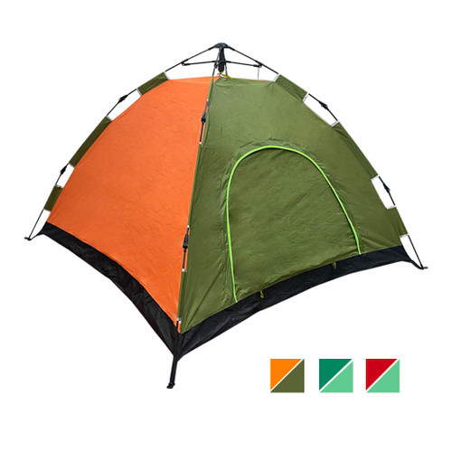 4 Person Pop Up Camping Tent - 2*2*1.4 m