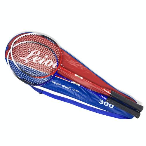 Leiou Badminton Racket - Set of 2 Rackets & 1 Carrying Case