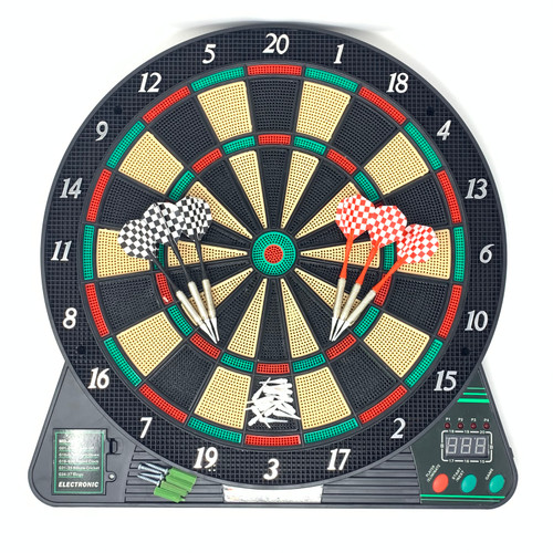 Hanging Electronic Dart Board With LED Display & 6 Darts