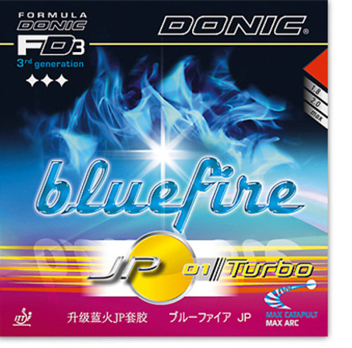 Donic Rubber Bluefire JP01 Turbo