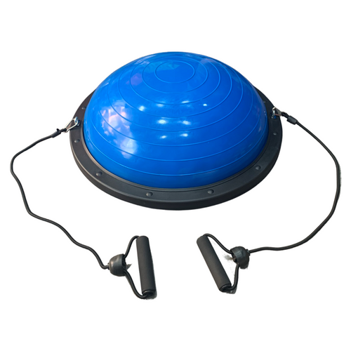 Bosu Ball Balance Trainer 60 cm Balance Dome with Pump & Resistance Bands
