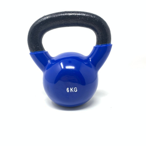 6 kg Vinyl Coated Kettlebell With Iron Handle