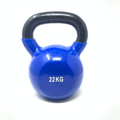 22 kg Vinyl Coated Kettlebell With Iron Handle