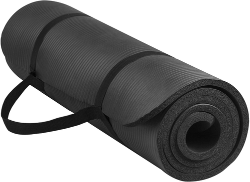 Exercise Yoga Mat 1.5 cm with Carrying Strap