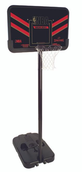 "Spalding NBA Highlight 44"" Eco-Composite Basketball Portable Hoop Red"