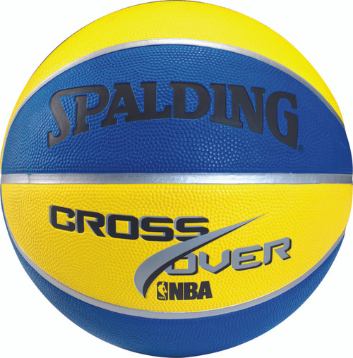Spalding Cross Over Color Outdoor Basketball - Size 5