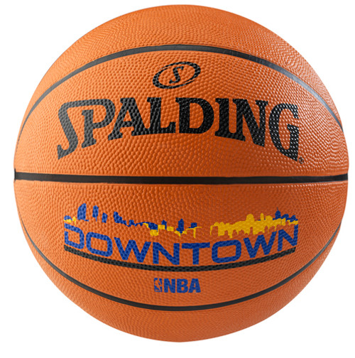 Spalding Downtown Brick/Blue Outdoor Basketball - Size 7
