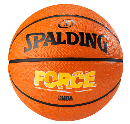 Spalding Force Brick Outdoor Basketball - Size 7