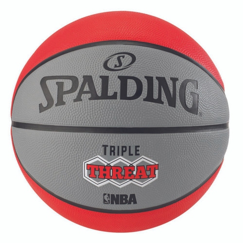 Spalding Triple Threat Color Outdoor Basketball - Size 7