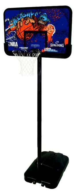 "Spalding Sketch 44"" Composite Portable Basketball Hoop"