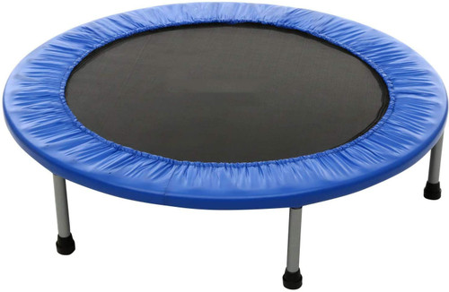 Mini Trampoline Fitness Rebounder Exercise Bounce For Adults Indoor/Outdoor