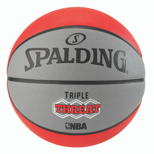 Spalding Triple Threat Color Outdoor Basketball - Size 6