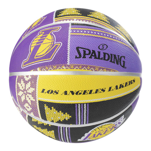 Spalding NBA Team Lakers Outdoor Basketball - Size 7
