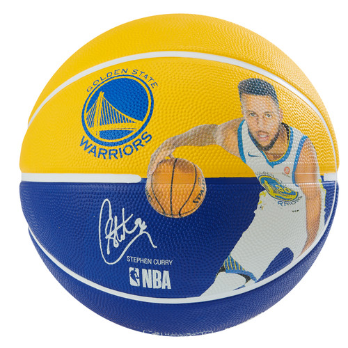 Spalding NBA Player Stephen Curry Outdoor Basketball - Size 7