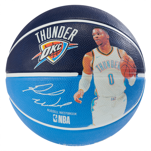 Spalding NBA Player Russell Westbrook Outdoor Basketball - Size 7