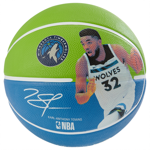 Spalding NBA Player Karl-Anthony Towns Outdoor Basketball - Size 7
