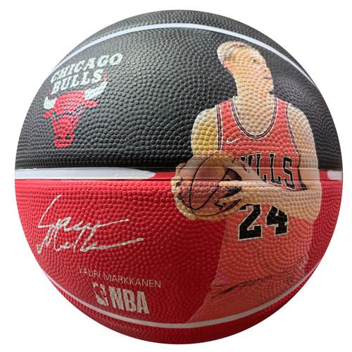 Spalding NBA Player Lauri Markkanen Outdoor Basketball - Size 7