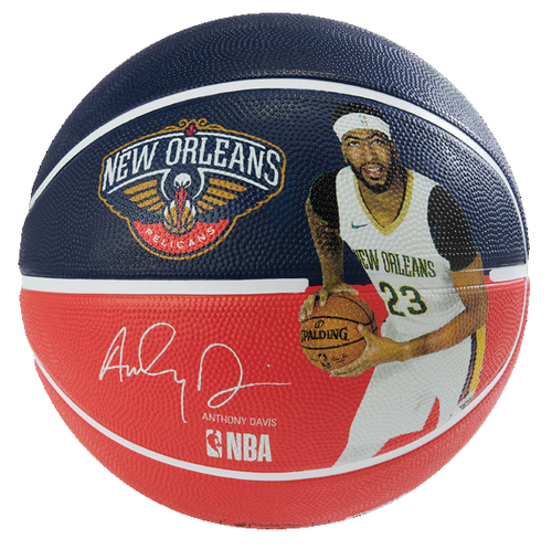 Spalding NBA Player Anthony Davis Outdoor Basketball - Size 7